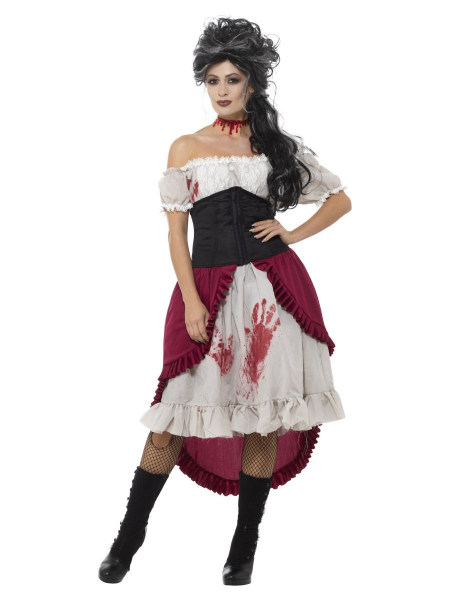 Victorian Slasher Victim Costume
